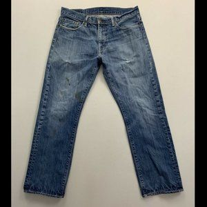 Levi's 514 Men's Blue Slim Straight Leg Jeans 34